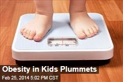 Obesity in Kids Plummets