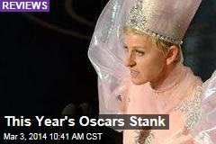 This Year's Oscars Stunk