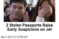 2 Stolen Passports Raise Early Suspicions on Jet