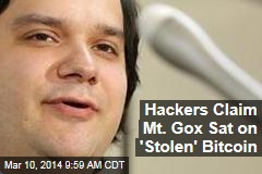 Hackers Claim Mt. Gox Sat on 'Stolen' Bitcoin