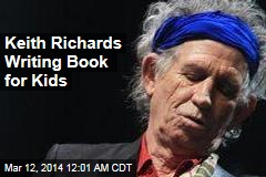 Keith Richards Writing Book for Kids