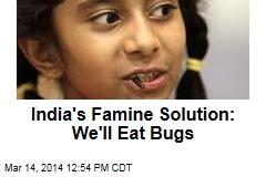 India's Famine Solution: We'll Eat Bugs
