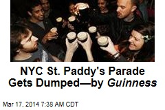 Guinness Dumps NYC's St. Pat Parade Over Gay Ban