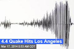 4.4 Quake Hits Los Angeles