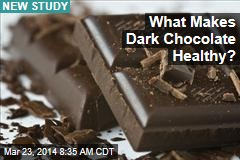 What Makes Dark Chocolate Healthy?