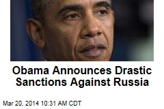 Obama Announces Drastic Sanctions Against Russia