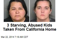 3 Starving, Abused Kids Taken From California Home