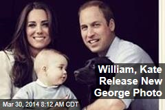 William, Kate Release New George Photo