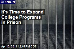 It's Time to Expand College Programs in Prison