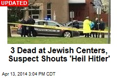 1 Dead in Shootings at Jewish Sites in Kansas