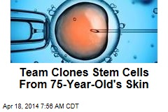 Team Clones Stem Cells From 75-Year-Old's Skin