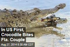 In US First, Crocodile Bites Fla. Couple