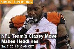 NFL Team's Classy Move Makes Headlines