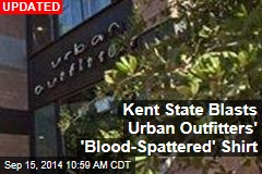 Kent State Blasts Urban Outfitters' 'Blood-Spattered' Shirt