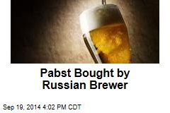 Pabst Bought by Russian Brewer