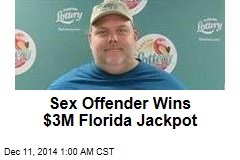Sex Offender Wins $3M Florida Jackpot