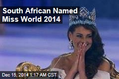 South African Named Miss World 2014