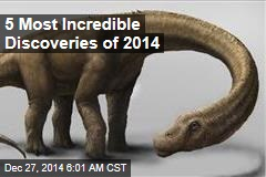 5 Most Incredible Discoveries of 2014