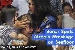 Sonar Spots AirAsia Wreckage on Seafloor