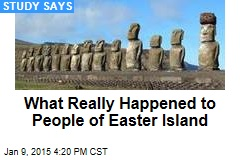 What Really Happened to People of Easter Island