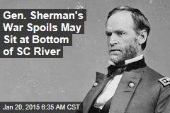Gen. Sherman's War Spoils May Sit at Bottom of SC River