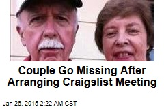 Couple Go Missing After Arranging Craigslist Meeting