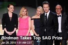 Birdman Takes Top SAG Prize