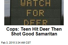 Cops: Teen Hit Deer Then Shot Good Samaritan