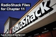 RadioShack Files for Chapter 11
