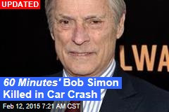 60 Minutes' Bob Simon Killed in Car Crash