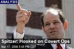 Spitzer: Hooked on Covert Ops