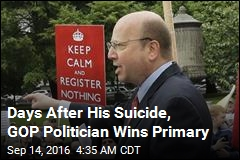 Dead Man Wins GOP Primary
