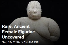 Rare, Ancient Female Figurine Uncovered