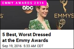 5 Best, Worst Dressed at the Emmy Awards