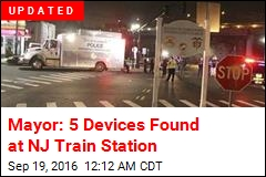Mayor: 5 Devices Found at NJ Train Station