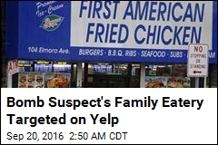 Bomb Suspect's Family Eatery Targeted on Yelp