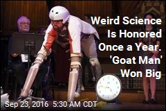 Weird Science Is Honored Once a Year. 'Goat Man' Won Big