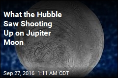 What the Hubble Saw Shooting Up on Jupiter Moon