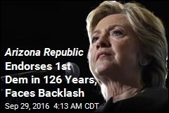 Arizona Republic Endorses 1st Dem in 126 Years, Faces Backlash