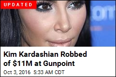 Kim Kardashian Robbed of $11M at Gunpoint