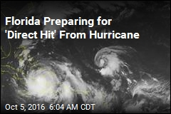 Florida Preparing for 'Direct Hit' From Hurricane
