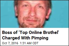Boss of 'Top Online Brothel' Charged With Pimping