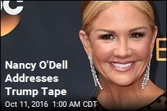 Nancy O'Dell Addresses Trump Tape