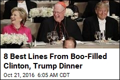 8 Best Lines From Boo-Filled Clinton, Trump Dinner