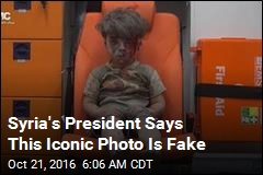 Syria's President Says This Iconic Photo Is Fake