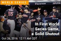 In First World Series Game, a Solid Shutout