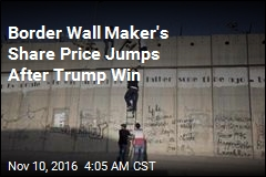 Border Wall Maker's Share Price Jumps After Trump Win