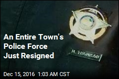An Entire Town's Police Force Just Resigned
