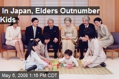 In Japan, Elders Outnumber Kids