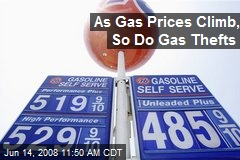 As Gas Prices Climb, So Do Gas Thefts